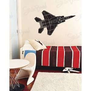 Vinyl Wall Art Decal Sticker Fighter Jet