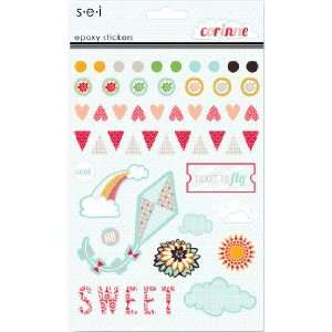 SEI   Corrine Collection   Epoxy Stickers Arts, Crafts