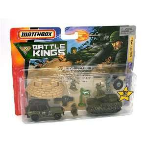 Matchbox Battle Kings Island Defense Toys & Games