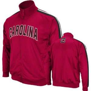 South Carolina Gamecocks Cardinal Pace Track Jacket