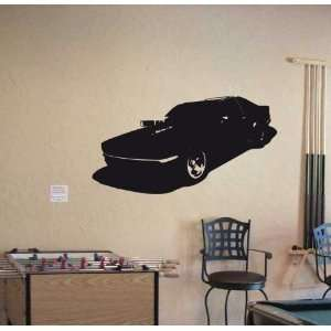Wall Vinyl Sticker Car American Muscle Fast Power 016