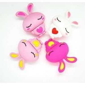 4GB Cute Pink Rabbit with Red Heart Style USB Flash Drive