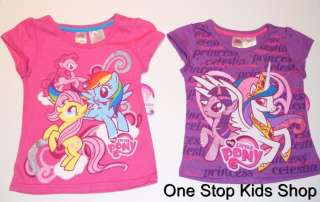 MY LITTLE PONY Girls 2T 3T 4T 5T Top SHIRT Pinkie Pie