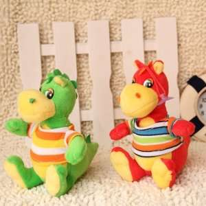 dragon toy in cloth christmas gift plush toy 10 pcs/lot Toys & Games