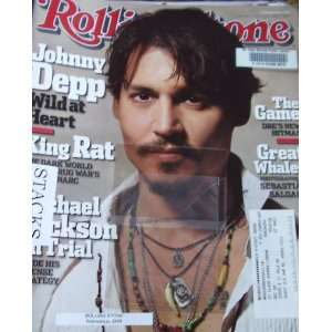 Rolling Stone Magazine February 10 2005 Johnny Depp