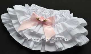 New Diaper Covers ruffle pants Bloomers Baby toddler Girls Pink black