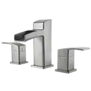 Price Pfister T49 DF0K Kenzo Two Handle 8 Wide Set Lavatory Faucet