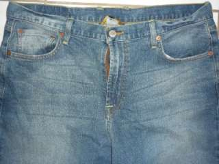 MENS LUCKY BRAND STRAIGHT LEG JEANS IN DENIM BLUE 34