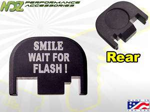 Rear Cover Plate for Glock 17 19 22 23 26 Smile Flash