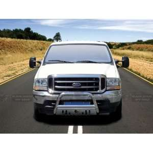 Ford Excursion 1999 2007 Stainless Steel Black horse With