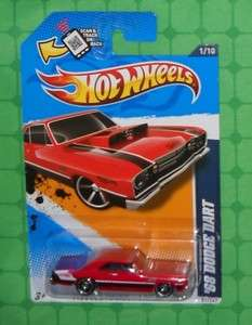 2012 Hot Wheels Muscle Mania   Mopar #81   68 Dodge Dart