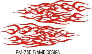 FLAME BODY GRAPHICS KIT DECAL   TRUCK VAN SUV CAR