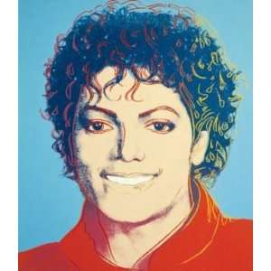 Andy Warhol 1984 Michael Jackson Pop Art Oil Painting