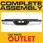 2000 2006 TOYOTA TUNDRA COMPLETE CHROME REAR STEP BUMPER+UPPER PAD+LIC