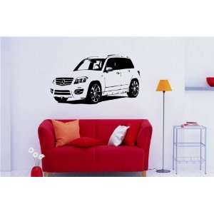 Wall Vinyl Sticker Car Brabus Mercedes GLK S. 924