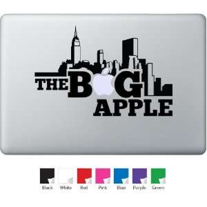 Big Apple Decal for Macbook, Air, Pro or Ipad Everything