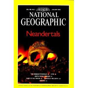 National Geographic January 1996 Vol. 189, No. 1 National