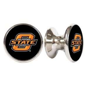 Oklahoma State Cowboys NCAA Stainless Steel Cabinet Knob / Drawer Pull
