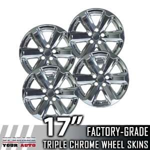 2007 2011 Toyota Highlander 17 Chrome Wheel Skins