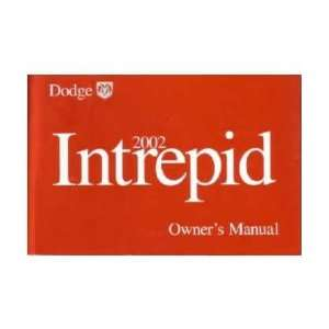 2002 DODGE INTREPID Owners Manual User Guide Everything