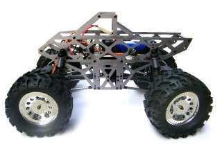 Electric RC Monster Truck 4WD 1/10 Car GROUND POUNDER Amsoil body