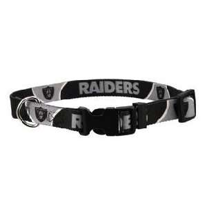 Oakland Raiders Official NFL Dog Collar   Size Extra Large