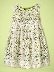 New Gap Baby Girl Villa Centinale Lace Dress 12 18 18 24 NWT