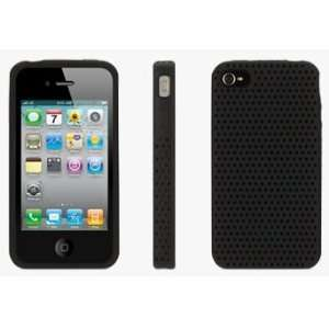 Apple iPhone 4/4S Griffin Black FlexGrip Punch Silicone