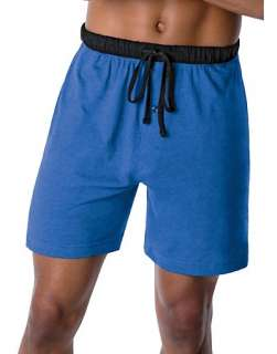Hanes Mens ComfortSoft Jersey Lounge Shorts 2 Pack   style 01005/2