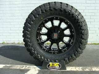 Black 33x12.50R18 33x12.50 18 Toyo Open Country MT 33 Tires