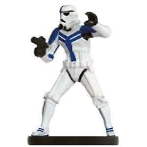 Star Wars Miniatures Felucian Stormtrooper Officer # 35   The Force