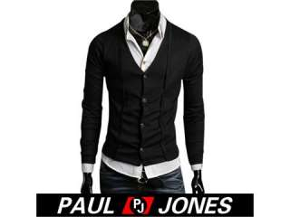 PJ Men's Stylish Slim Fit Jackets Coats Sz XS~M Gift
