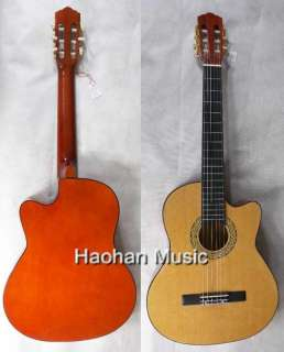 39 Hand MADE Acoustic GUITAR BassWood New #CG851 5