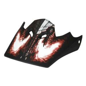 Fox Racing Rampage Visor Adult Dirt Bike Motorcycle Helmet Accessories