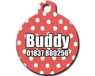 Cool Custom Personalised Pet Dog Name ID Tag For Collar