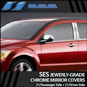 2007 2012 Dodge Caliber SES Chrome Mirror Covers