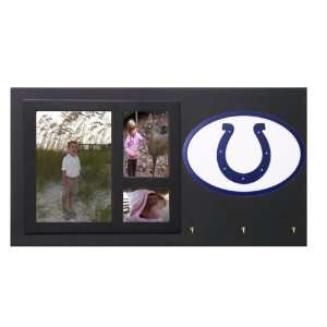 Indianapolis Colts Picture Frame Key Holder Sign Sports