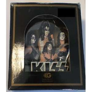Kiss Vintage Christmas Ornament