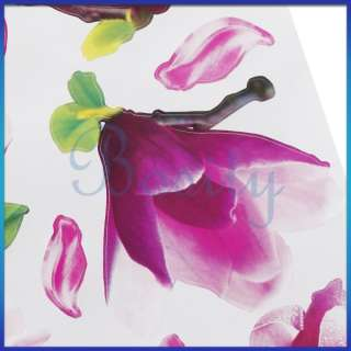 Magnolia Flower Wall Art Removable Wall Decal Sticker Decor