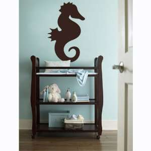 Vinyl Wall Art Decal Sticker Seahorse Silhouette Kids Room