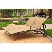 Caravan Valencia Outdoor Wicker Multi Position Double Chaise Lounge