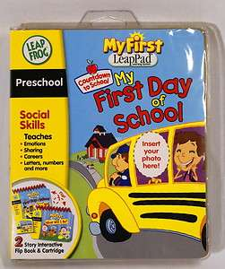 My First Day of School Leapfrog Leap Frog LeapPad Pad Interactive Book