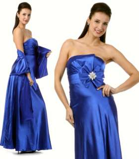 Womens Strapless Long Prom Dress Evening Gown XS S M L XL 1XL 2XL 3XL