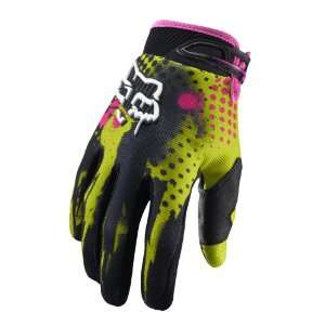 2011 Fox Racing 360 Riot Gloves   Acid Green   9 (Medium