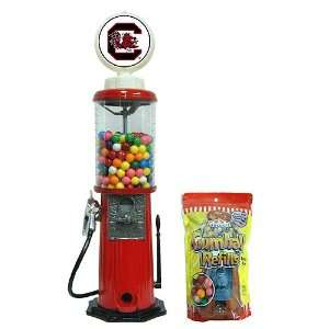 South Carolina Gamecocks NCAA Red Retro Gas Pump Gumball