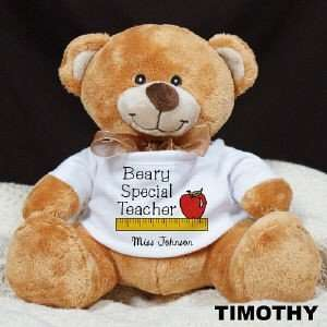 Beary Special Teacher Plush Teddy Bear Toys & Games