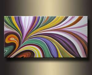 Large Art OIL PAINTING Wall Decor On Canvas No frame