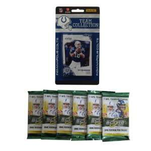 Indianapolis Colts 2010 Score Team Set with Six Score Football Packs