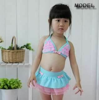 Girls Baby child Bikini Swimsuit Swimwear Tankini swim bathing suit