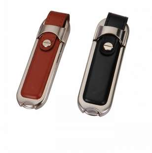 Leather USB Mini Key Chain Flash Pen Drive Disk 8GB 16GB 32GB
